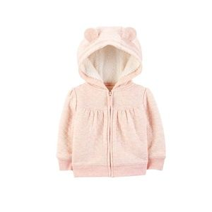 Other - Carter's Baby Girls' Hooded Sweater Jacket